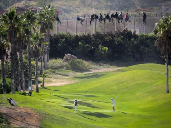 Valla y campo golf