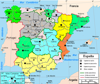 Fronteras españa